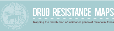 logo - Drugs Resistance Maps. Mapping the distribution of resistance genes of malaria in Africa